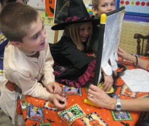 Halloween class party