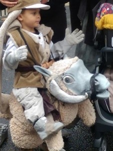Halloween at the Market 2015 Luke Skywalker