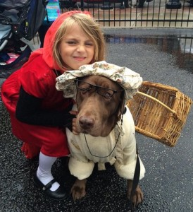 Halloween at the Market 2015 Red Riding Hood and Grandmother