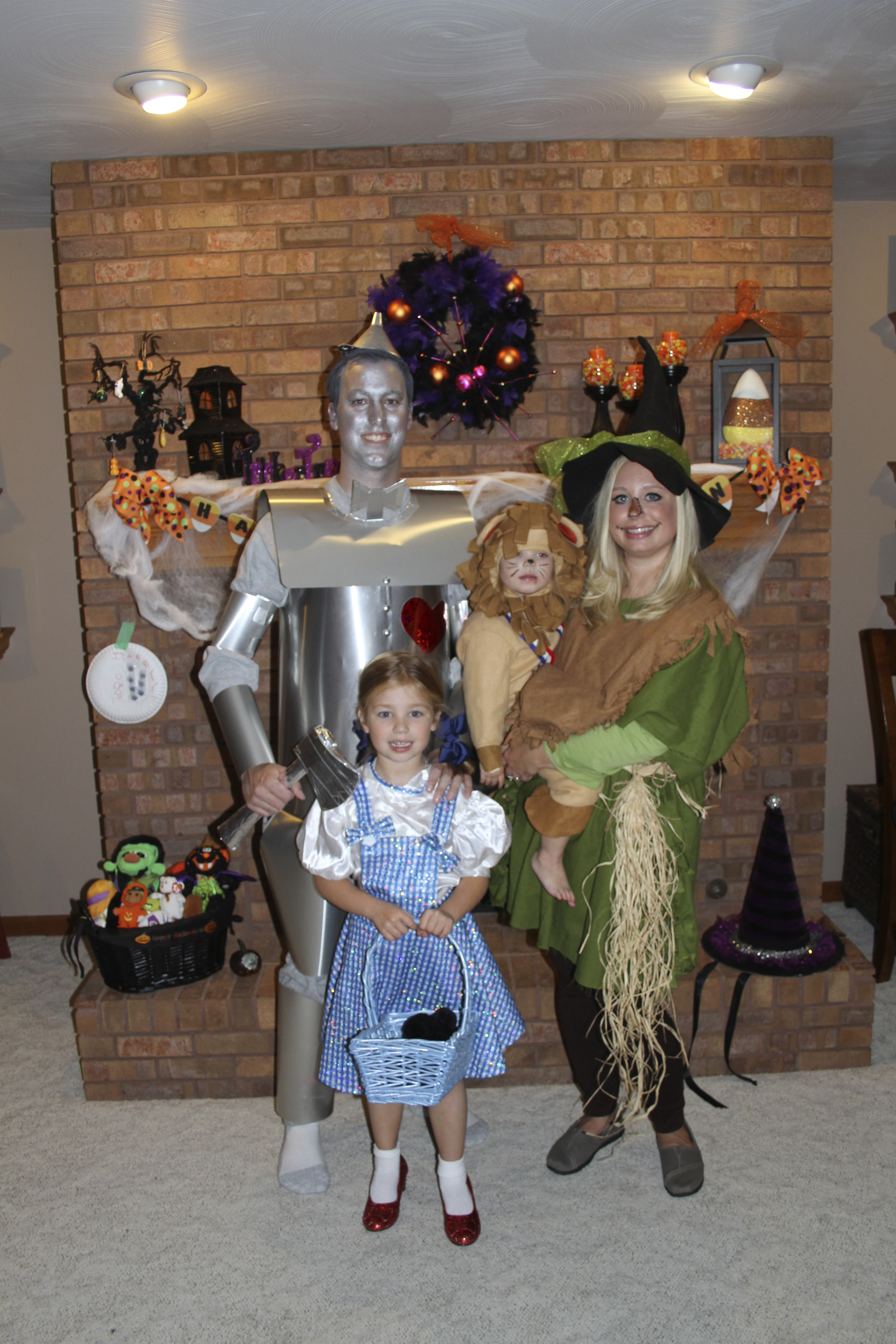 every year for the past 7 years my family humors me and we coordinate a family halloween costume this year it was harder to get everyone on board