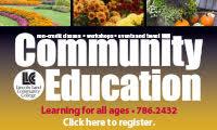 LLCC Community Ed Sidebar