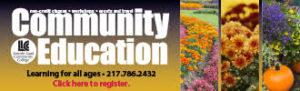 LLCC community ed banner