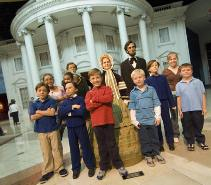 Kids with the Lincolns