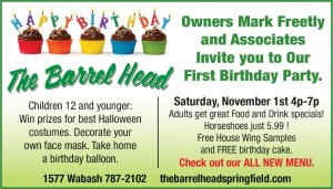 Barrel Head Birthday Bash