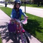 Vanessa Biking