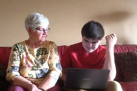 teen and grandma online